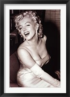 Framed Monroe Marylin - Smiling