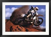 Framed Motocross