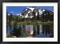 Framed Mount Shuksan
