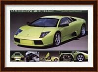 Framed Lamborghini Murcielago