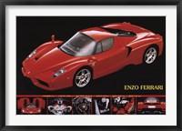 Framed Ferrari