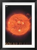 Framed Solar Flares