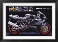 Framed Motorcycle Ducati Super Sport