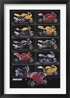 Framed Motorcycle-Ducati