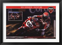 Framed Ducati Superbike