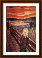 Framed Scream, c.1893