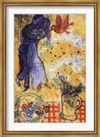 Framed Les Amoureux