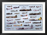 Framed Wwii Aircraft
