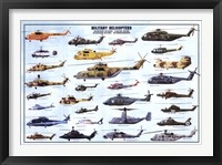 Framed Helicopters