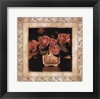 Framed Imperial Rose II