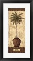 Framed Botanical Palm III