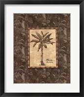 Vintage Palm IV Framed Print