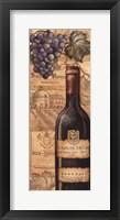 Framed Vineyards - Red