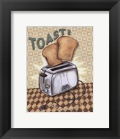 Framed Nifty Fifties - Toast