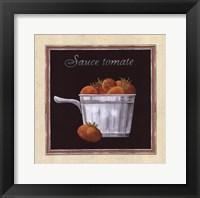 Framed Sauce Tomate