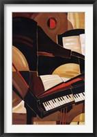 Framed Abstract Piano