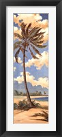 Palm Breeze II Framed Print