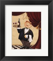 Framed Waiter - Vin