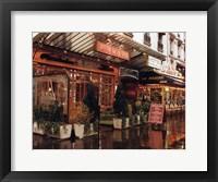 Framed Bistro de la Gare