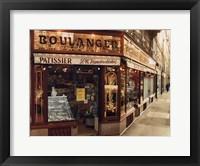 Framed Boulangier Patissier