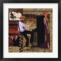 Framed Jazz Piano