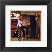 Framed Jazz Piano - Petite