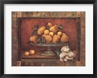 Framed Florentine Pear
