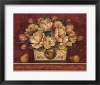 Tulip Tapestry Framed Print
