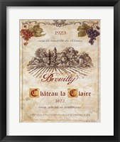 Framed Brouilly