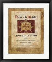 Vin I Framed Print