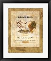Vin IV Framed Print