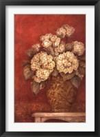 Villa Flora Hydrangea Framed Print