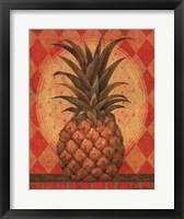 Grand Pineapple Gold Framed Print