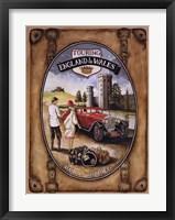Royal Touring Framed Print