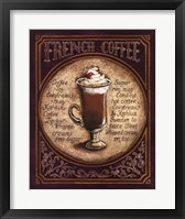 Framed French Coffee