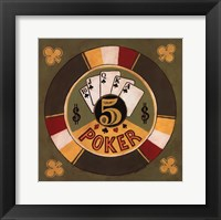 Framed Poker - $5