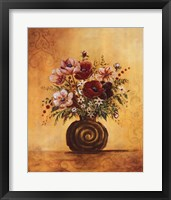Yellow Floral Study I Framed Print