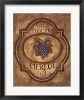 Framed Merlot