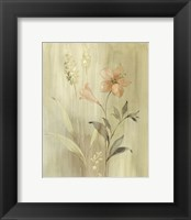 Framed Summer Silk I