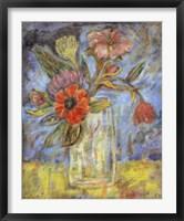 Framed Lyrical Blooms