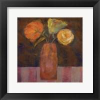 Orange  Olive Framed Print
