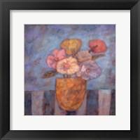 Golden Vase Framed Print