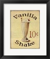 Malt Shop III Framed Print