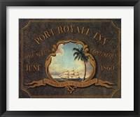 Framed Port Royale Inn