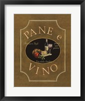 Pane e Vino Framed Print