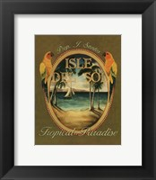 Framed Isle Del Sol - Mini