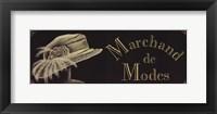 Framed Marchand De Modes