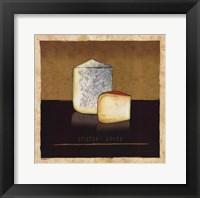 Cheeses II Framed Print