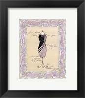 Dress Form I Framed Print