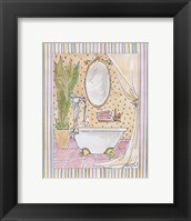 Powder Room I Framed Print